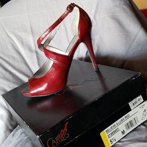 Carlos Santana strappy heel